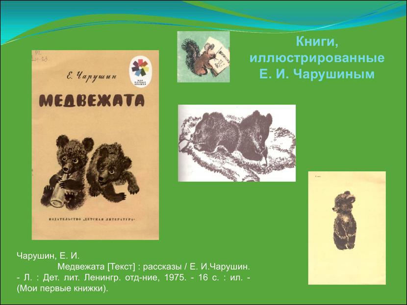 Рисунки из рассказа волчишко чарушина 137